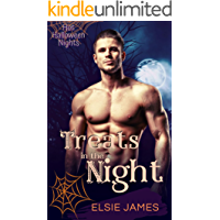 Treats in the Night (Hot Halloween Nights Book 5) book cover