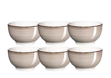 Mäser Domestic by, Serie Bel Tempo, pintadas a Mano cerámica Cuencos de 14 cm