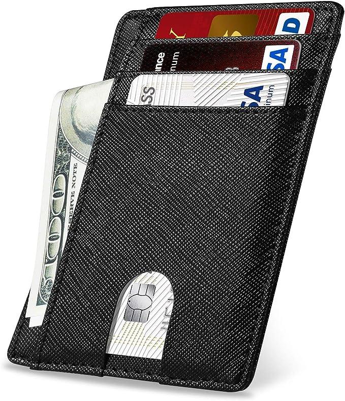 17 opinioni per Yosemy Portafoglio in Vera Pelle RFID Porta Carte di Credito Antifurto Borsa