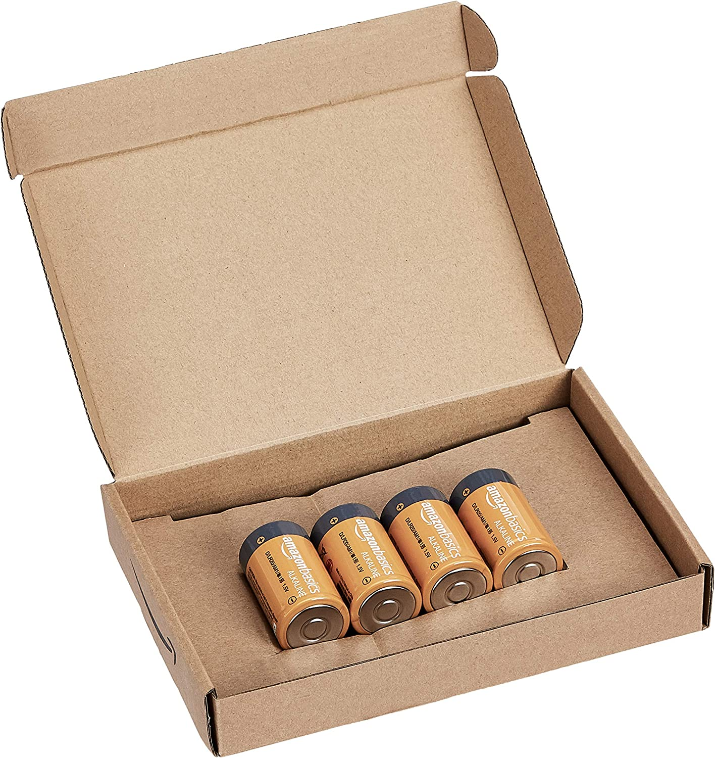 Appearance may vary Pack of 4 Basics AAAA 1.5 Volt Everyday Alkaline Batteries