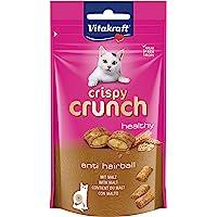 Vitakraft Przysmaki dla kotów Crispy Crunch, słód, 1 x 60 g