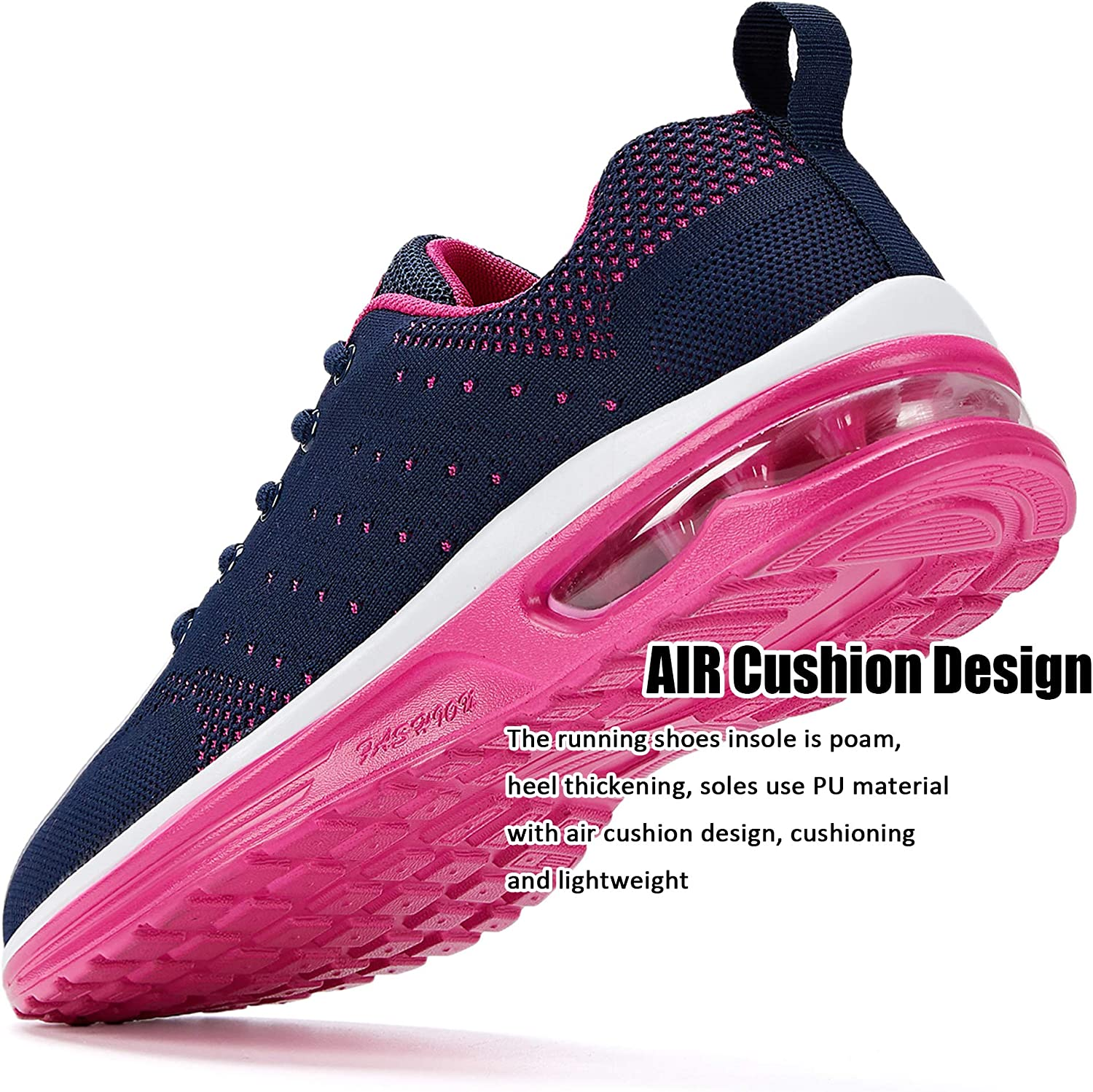 Nishiguang Womens Air Athletic Running Sneaker Fitness Sport Gym Jogging Tennis Shoes