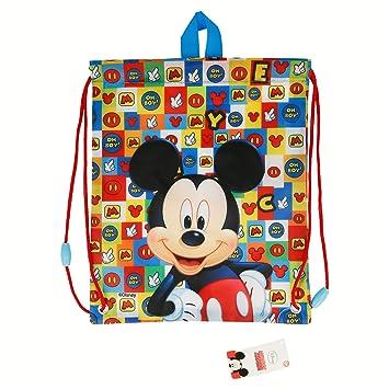 Mickey Mouse-ST-22054 Bolsa Merienda Icons, STOR ST-22054