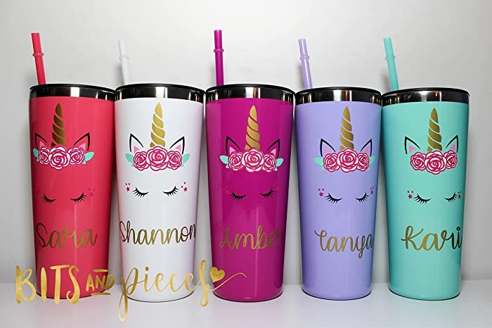 01bdf3760bb Personalized Stainless Steel Tumbler | Unicorn |Bachelorette Tumbler  Bachelorette Party Favors Bride and Bridesmaid Cups Stemless Gifts for  Bridal ...