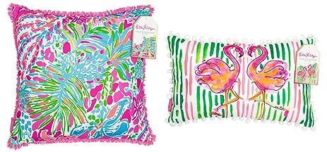 Amazoncom Lilly Pulitzer Pillow Set of 2 Lilly Pillows LG Spot Ya