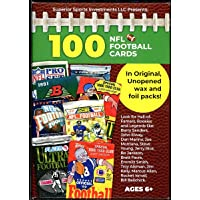 $24 » Superior Sports Investments LLC 100 NFL Football Cards in Original Unopened Wax and Foil Packs Blaster Box. Look for players such…