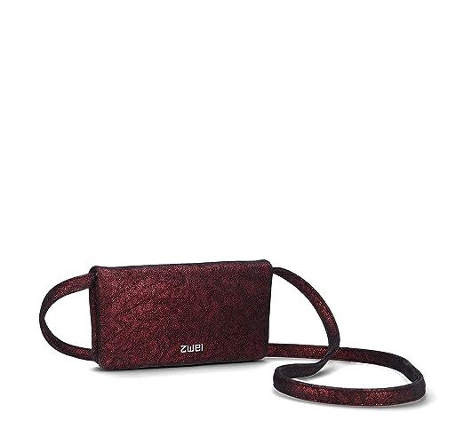 Zwei NIW3-z - Monedero de Piel sintética, Color Rojo: Amazon ...