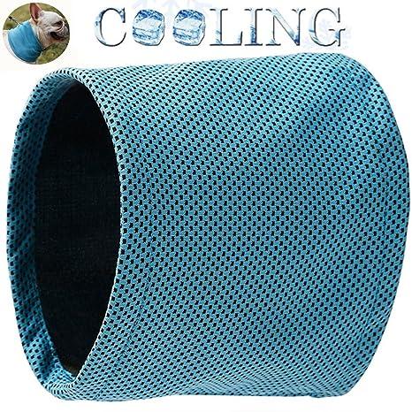 BECROWM - Collar de Refrigeración para Perro, frescor Instantáneo, Pañuelo para Perro, Pañuelo