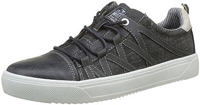 Mustang Herren 4123-302-820 Slip on Sneaker, Blau (Navy), 43 EU