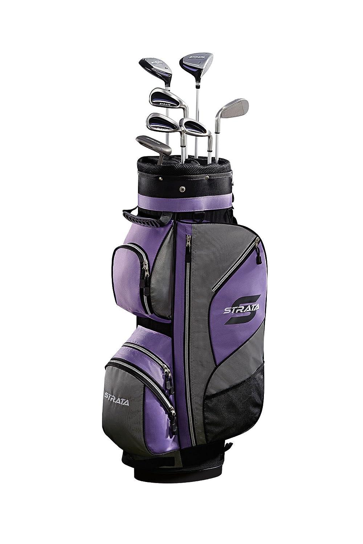 Callaway Strata - Juego de palos de golf y bolsa para mujer ...