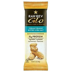 Raw Rev Glo Peanut Butter & Sea Salt