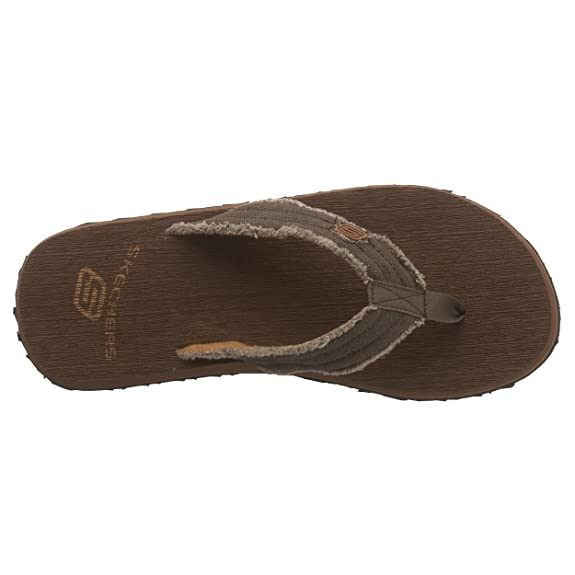 29d52a8b2769 Skechers Mens Tantric - Fray Thong Sandals  Amazon.co.uk  Shoes   Bags
