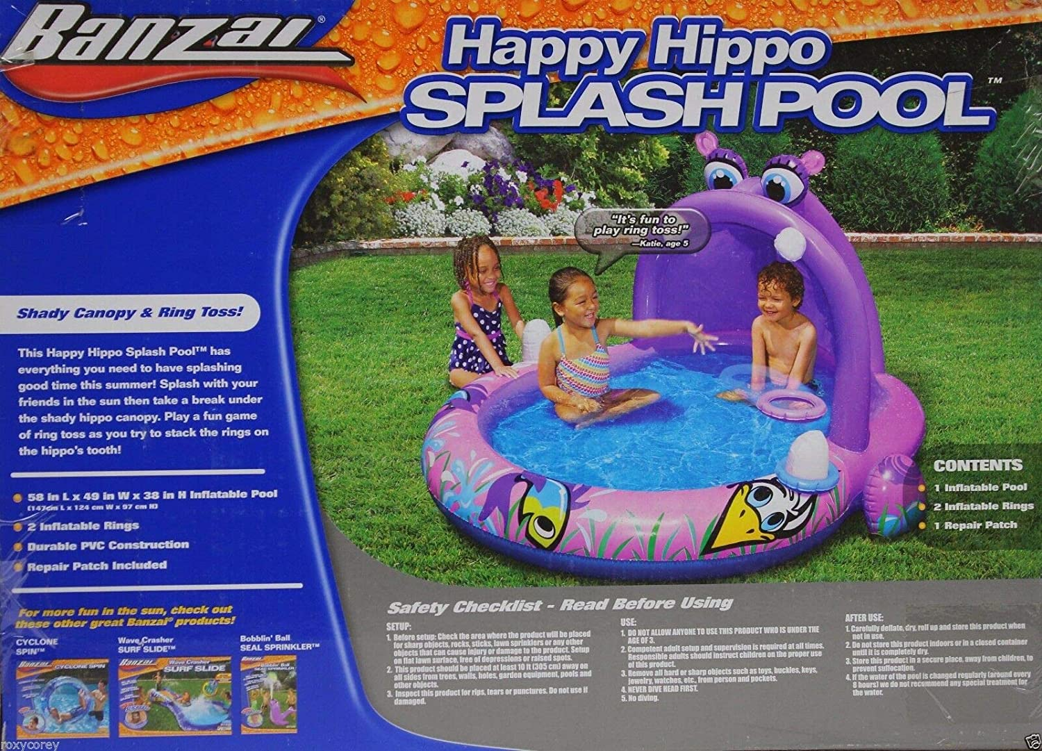 Happy Hippo Splash Pool: Amazon.es: Juguetes y juegos