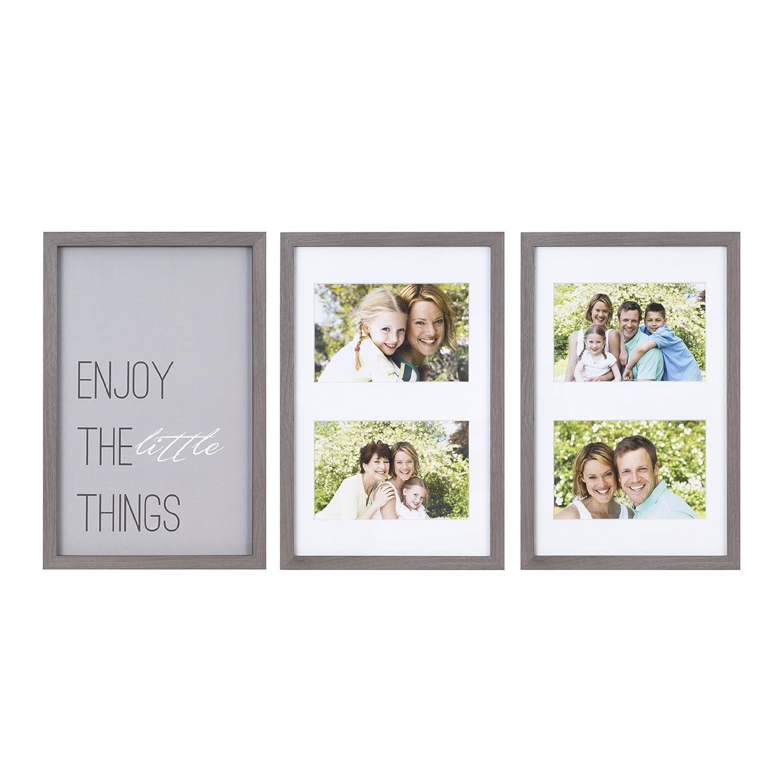 Groß 3 öffnung 8x10 Collage Rahmen Fotos - Benutzerdefinierte ...