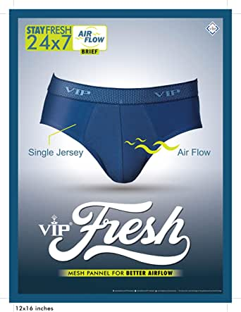 VIP FRESH MEN'S BRIEF