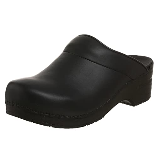 Dansko Men's Karl Box Leather Clog