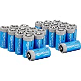 AmazonBasics Lithium CR123a 3 Volt Batteries - Pack of 24