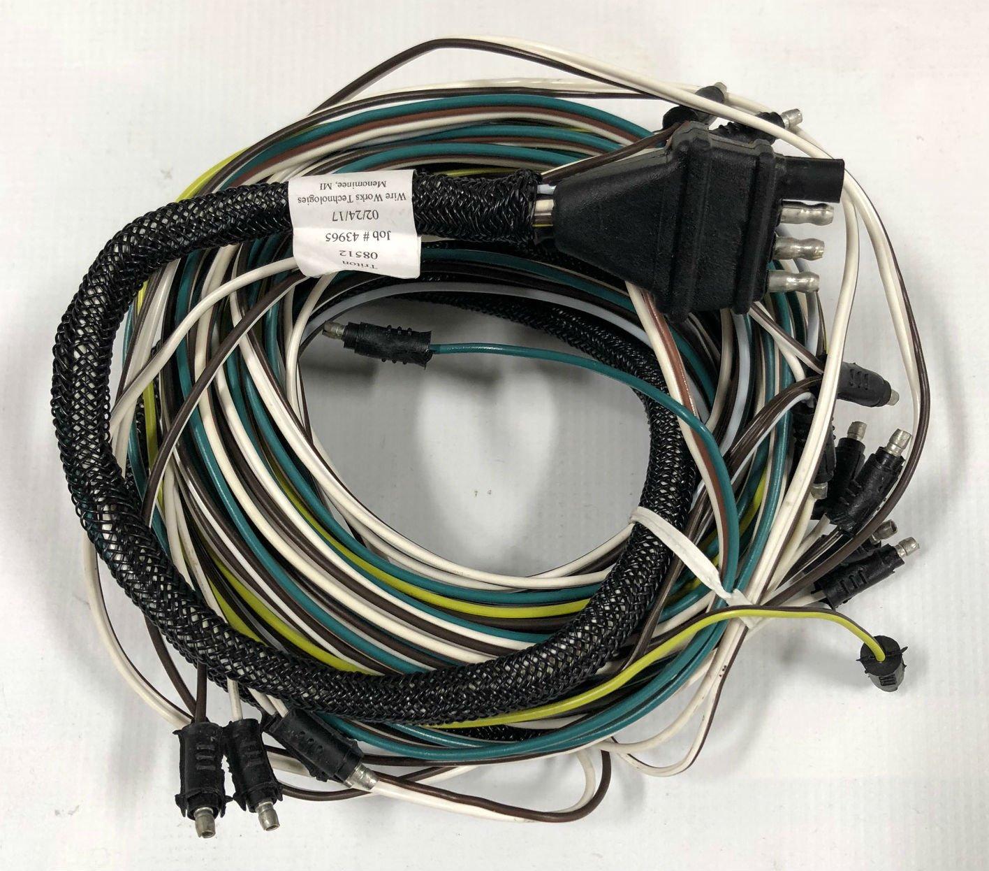 Triton Trailer Wiring Harness Library Snowmobile Amazoncom 08512 Atv128 Wire Accessories Sports