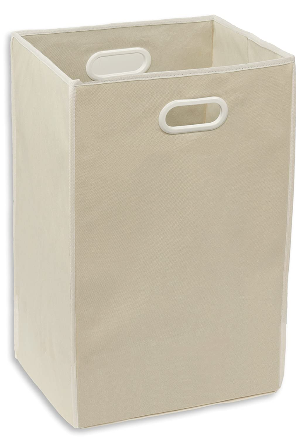 Simple Houseware Foldable Closet Laundry Hamper Basket, Beige