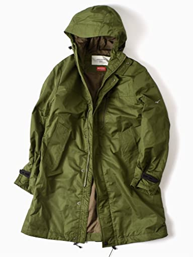 Mizuno Creation Breath Thermo Hooded Coat 114-15-0279: Olive