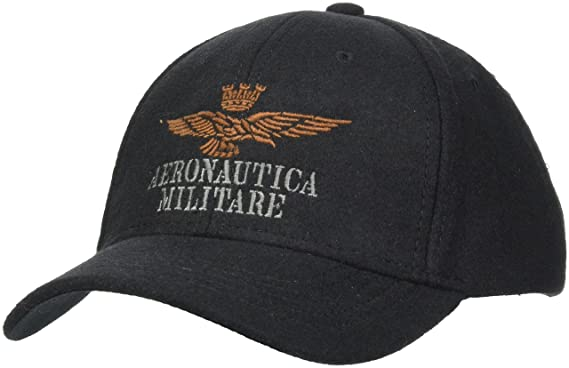dernier faire les courses pour chaussures authentiques Aeronautica Militare HA958CT2187 Casquette de Baseball, Noir ...