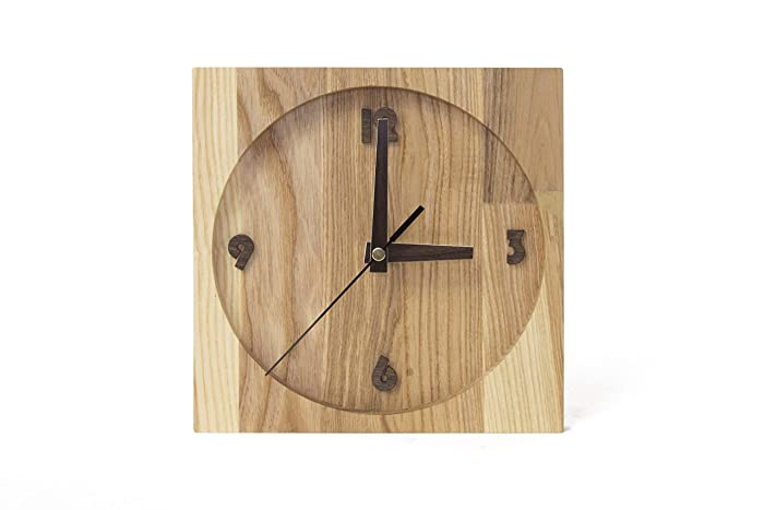 Wood Clocks Wooden Clocks Rustic Wall Clock Wooden Wall Clock