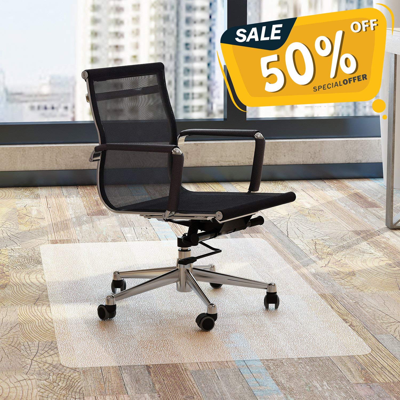 Amazoncom Chair Mat Office For Hardwood Floors 48 X 36 Fezibo
