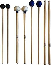 ROSS Percussion Intermediate Drum Mallet Set:General Timpani, SD2 Drumsticks, Medium Keyboard Mallets, Xylophone Rubber Mallets