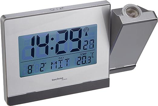 Technoline WT 538 Radio de proyección Reloj Despertador con Touch ...
