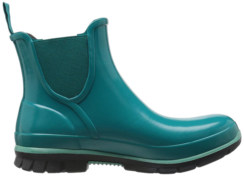 Bogs Women's Amanda Slip on Rain Boot B01J6STJE4 7 B(M) US|Emerald