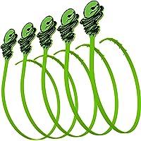 5-Pack Green Gobbler Hair Grabber Drain Tool