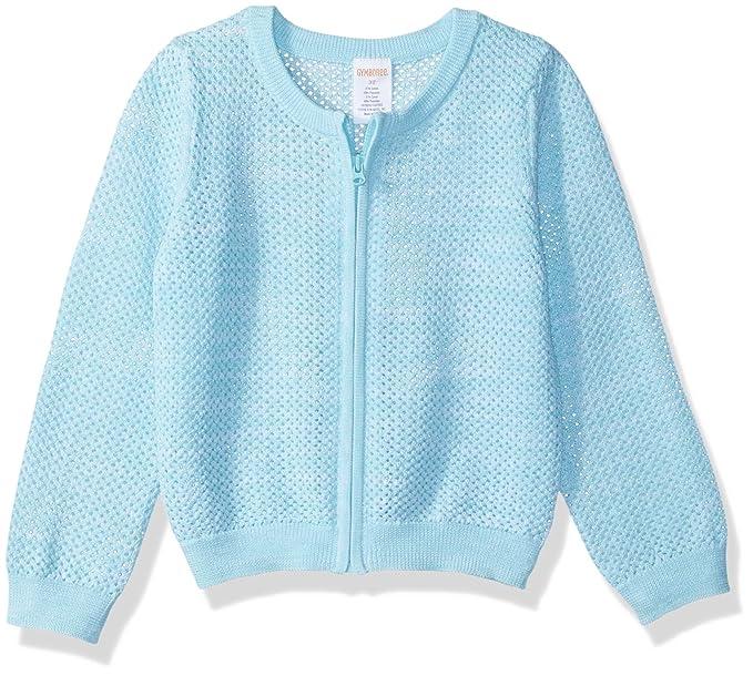 f998b7cca96 Amazon.com  Gymboree Girls  Toddler Long Sleeve Zip Ribbed Cardigan ...