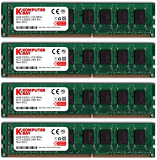 PARTS-QUICK BRAND ECS A880LM-M Motherboard DDR3 PC3-10600 NON-ECC DIMM RAM 4GB Memory Upgrade for EliteGroup