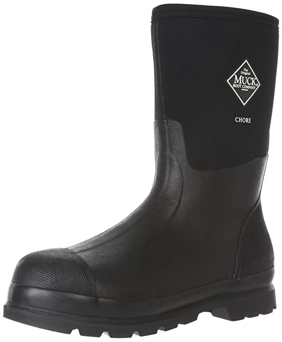 Amazon.com | The Original MuckBoots Adult Chore Mid Rain Boot