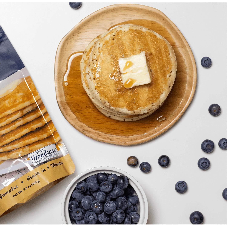 Mezcla de pancake y waffle de Keto y Co: Amazon.com: Grocery ...