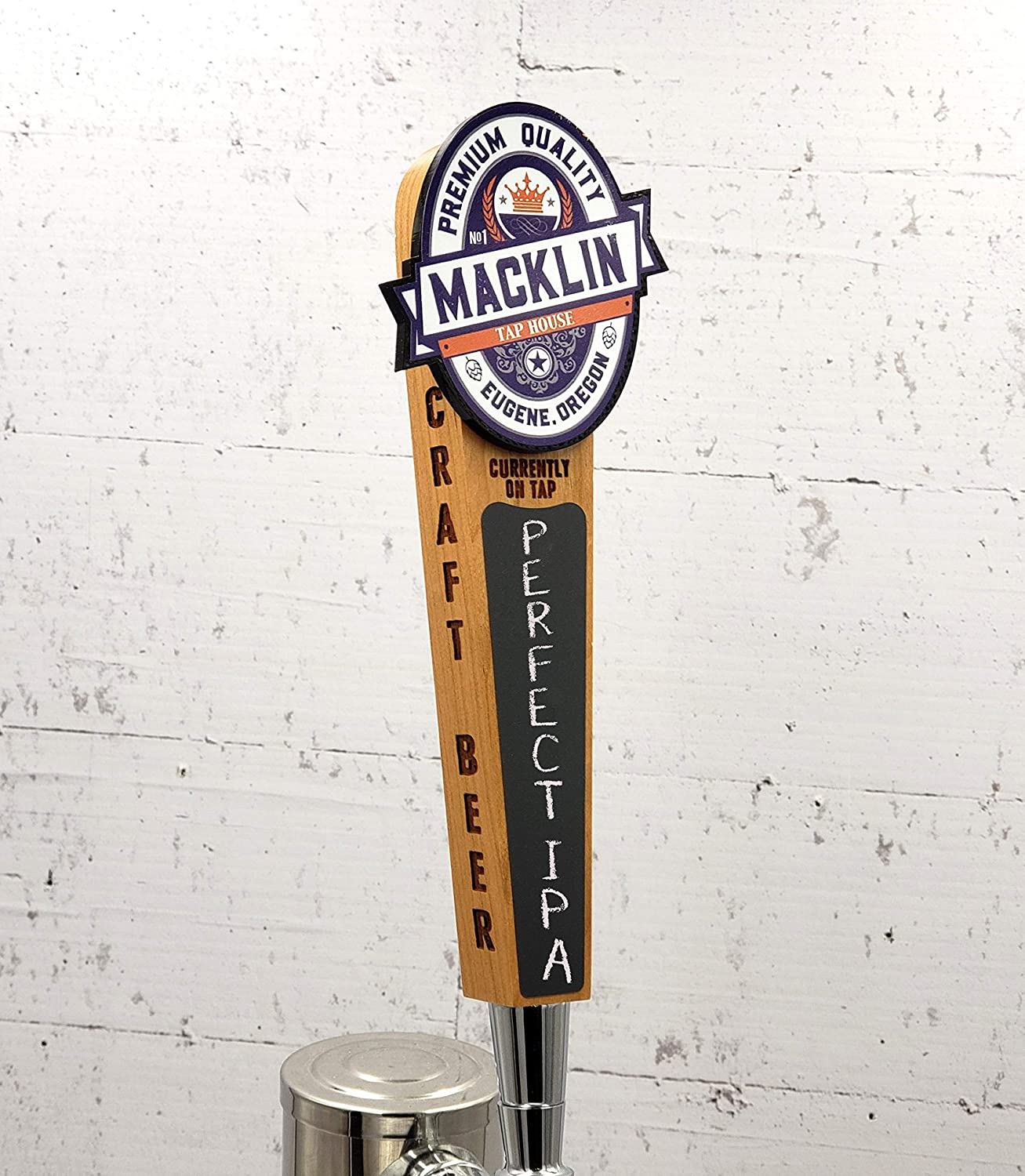 Pittsburgh Pirates Pub Style BEER TAP HANDLE Bar Engraved