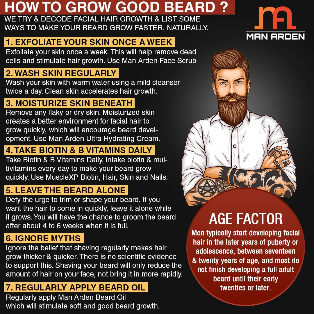 How To Grow Your Hair Mustache Faster Naturally