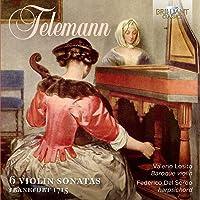 Georg Philipp Telemann: 6 Violin Sonatas, Frankfurt 1715