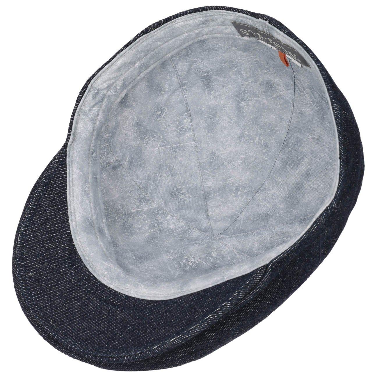 Stetson Maryland Denim Flat Cap Jeans (L (58-59 cm) - Denim)  Amazon.co.uk   Clothing d2fc2de4d696