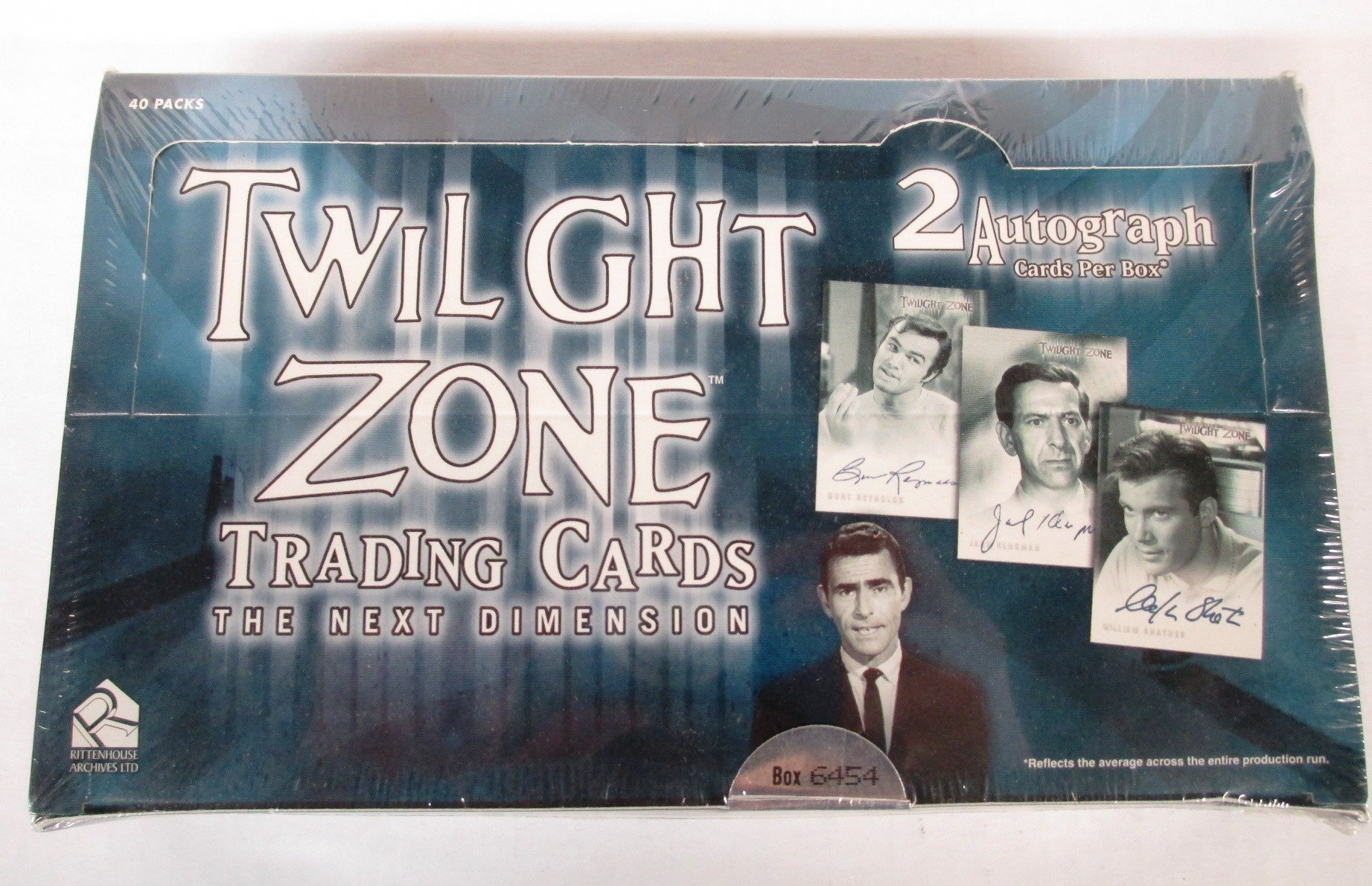 The Twilight Zone The Next Dimension Series 2 Trading Cards Box Set with Autograph card by Twilight Zone