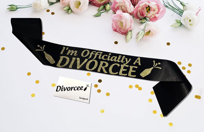 I Don/'t The Divorce Tour Party Sash