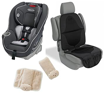 Graco Contender 65 Convertible Car Seat With Elite Mat Cushioned Strap Covers