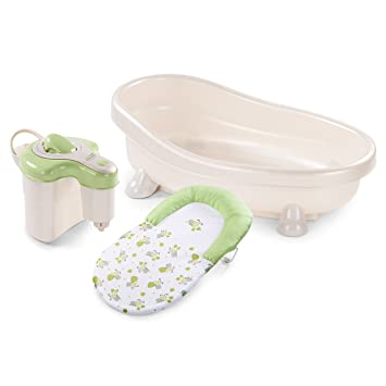 Amazon.com : Summer Infant Soothing Spa and Shower Baby Bath ...