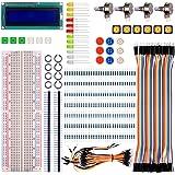 For Raspberry pi 3 Arduino kuman Basic Starter Kit with LCD Screen Module Breadboard,Resistors Rotary Potentiometer Compatible w/ UNO R3 pro mini atmega due Mega Nano Robot K64