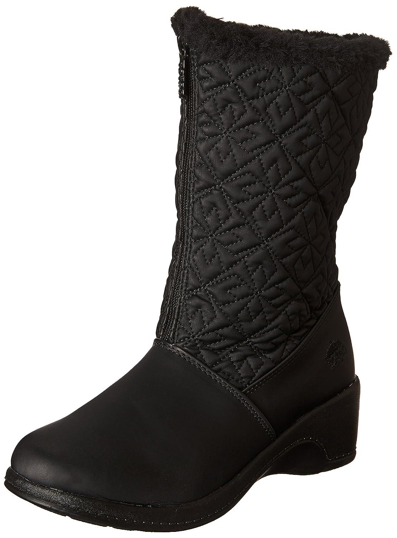 totes Women's Nancy Zipper Snow Boot B00VTW15MU 11 B(M) US|Black