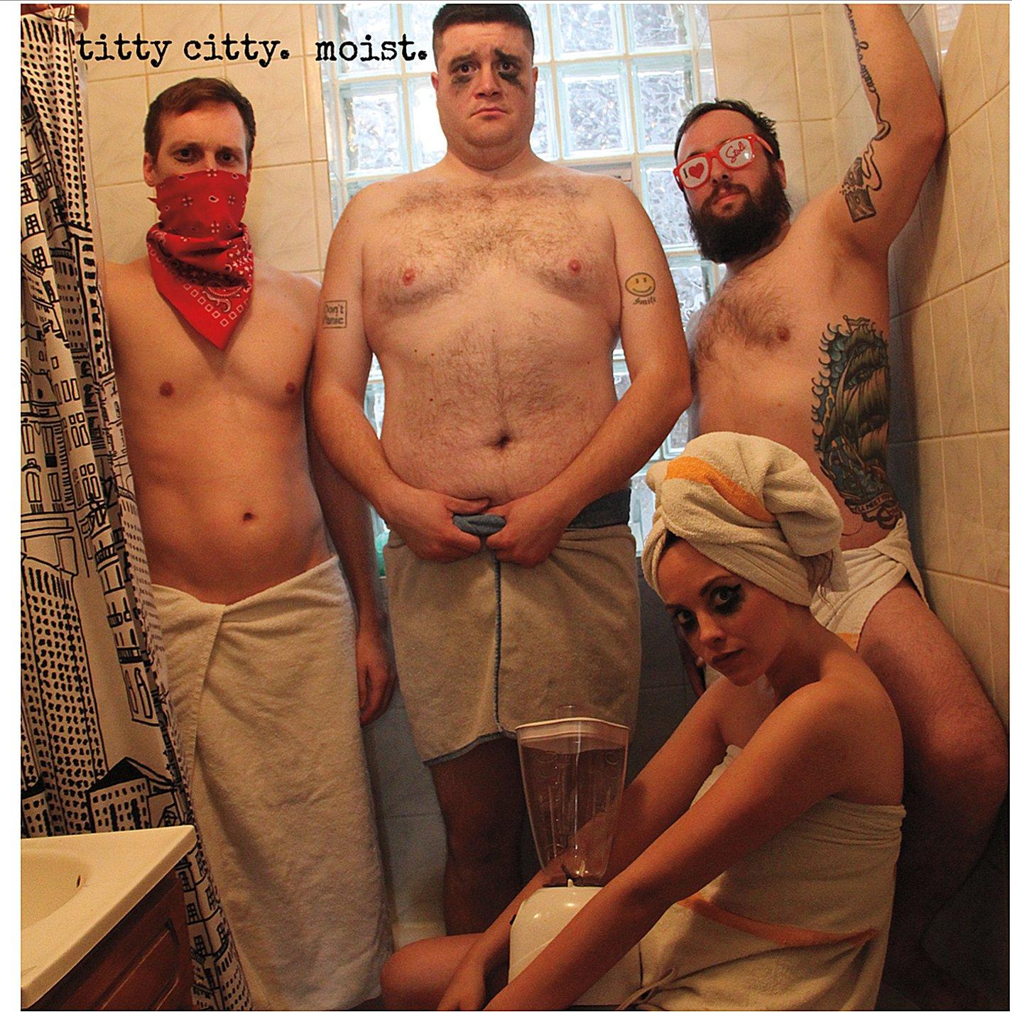 Titty Citty - Moist - Cover
