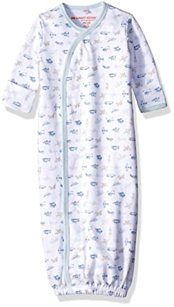 82266524c Amazon.com: Magnificent Baby Baby Boys' Magnetic Airplane Gown, New ...