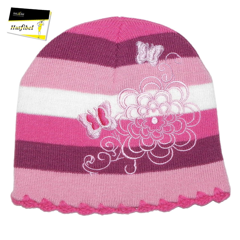 Kindermütze für Mädchen Wintermütze Beanie Strickmütze (PT-2263) - inkl. EveryHead-Hutfibel