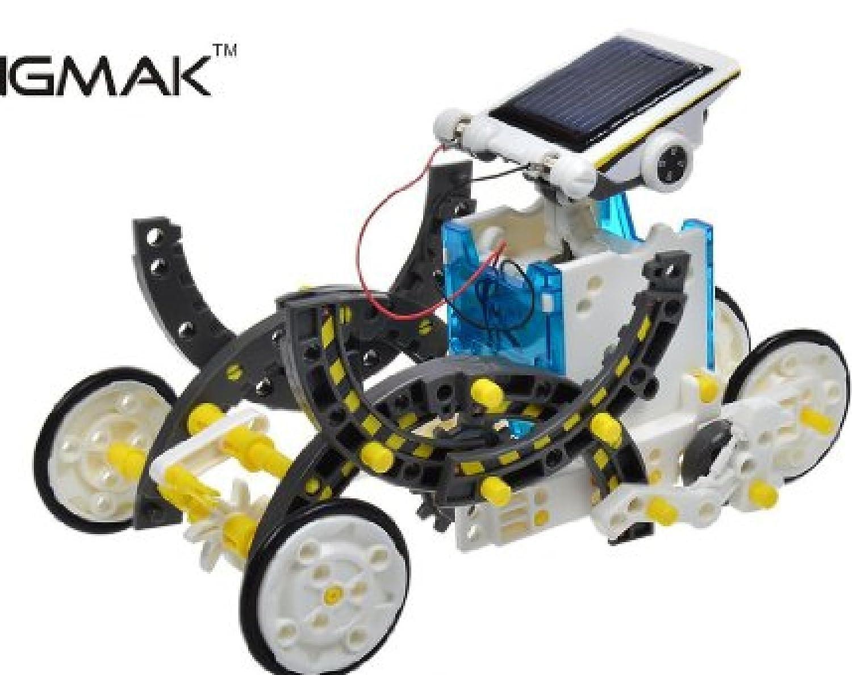 14-in-1 Educational Solar Educational Robot Robot Kit Kit [並行輸入品] B01HAO8H8A, 激安通販の:23204349 --- amlakzamanpour.com
