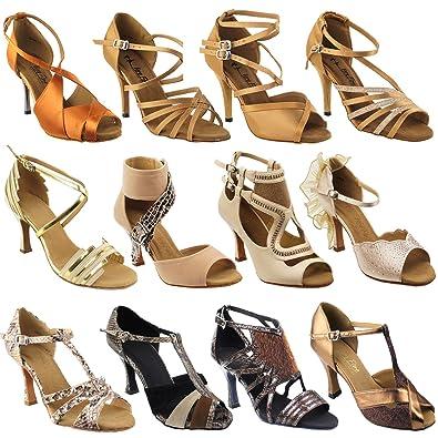 a384efdda32df Amazon.com | 50 Shades of TAN Dance Dress Shoes 2: Ballroom Salsa ...